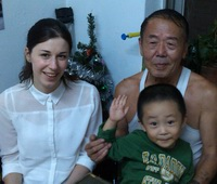 Barbara Homestay in Dalian China with Johnn's family